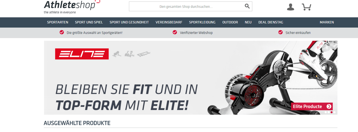 Athleteshop