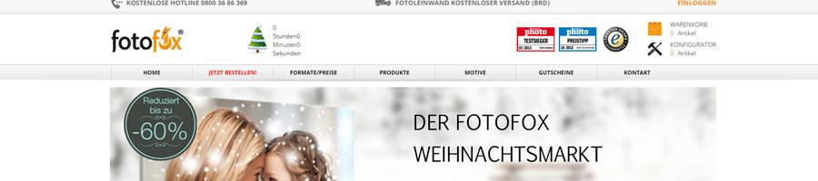 fotofox Gutschein