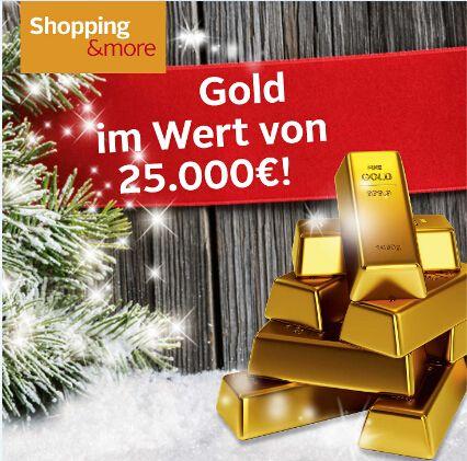 Chance auf Gold im Wert von 25.000€