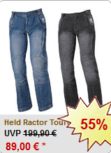 55% Rabatt auf Held Ractor Touren Jeans