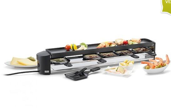 Raclette Cheeseboard Grill anthrazit