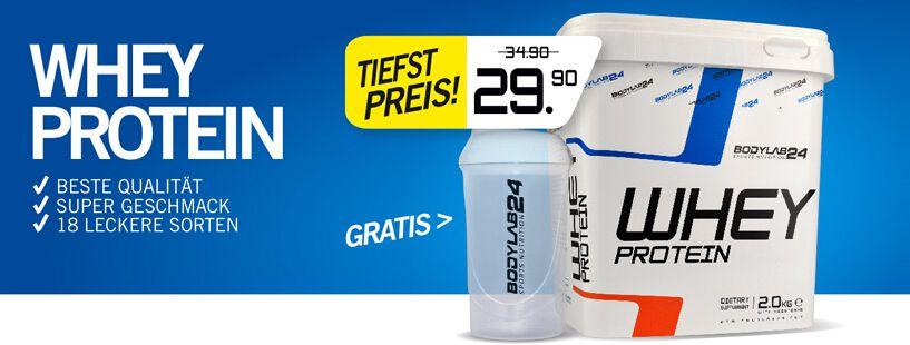Bodylab24 Whey Protein 2000 g