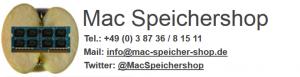 Mac Speichershop Gutscheine